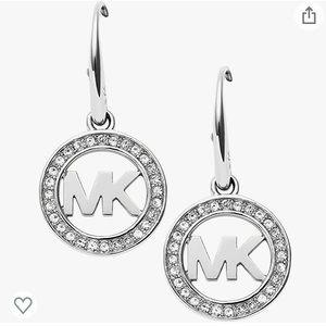 Michael Kors Signature Pave Drop Earring